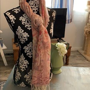 Accessories - Large scarf with flowers
